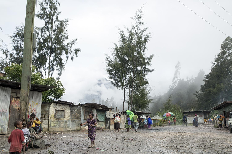 Mugalep Village, Porgera 2015