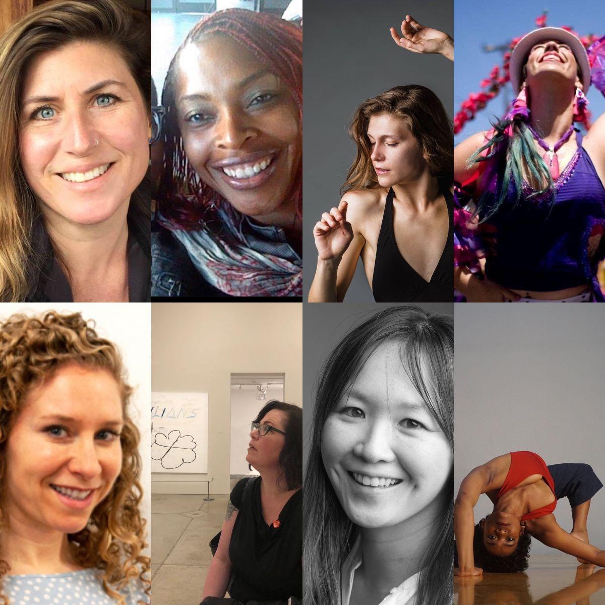 R&M teacher trainees (Leigh, Afia, Twyla, Emily, Jillian, Leila, Yayoi and Clarissa)
