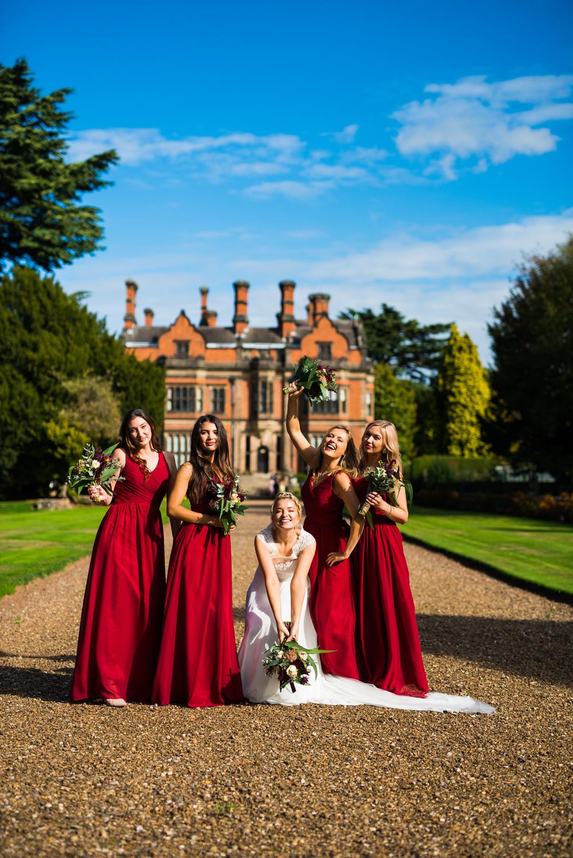 Nottingham wedding photographer, Bridesmaids