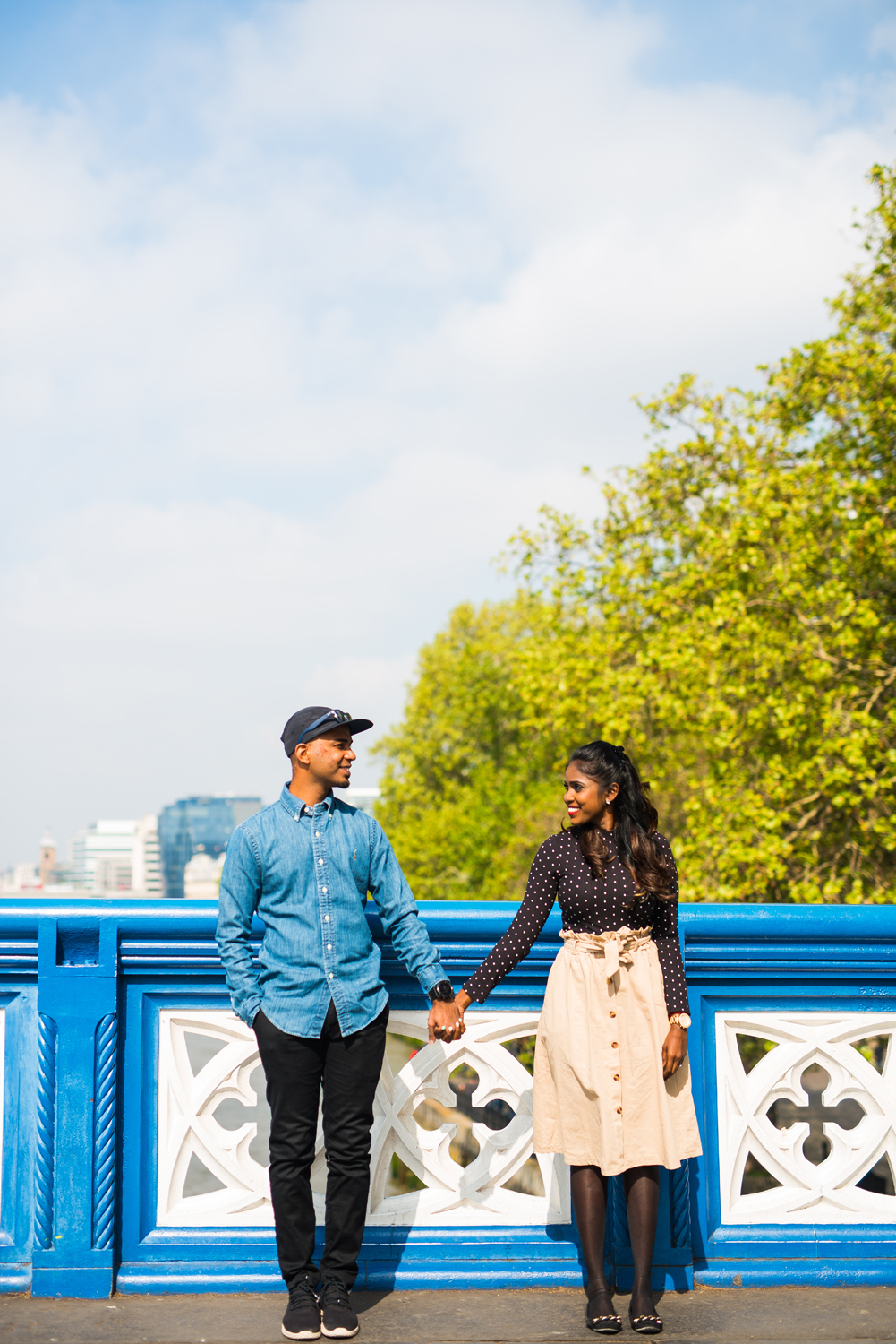 London bridge couple photoshoot