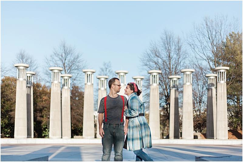 Ammi & Daniel at Bicentennial State Park in Nashville, Tennessee.