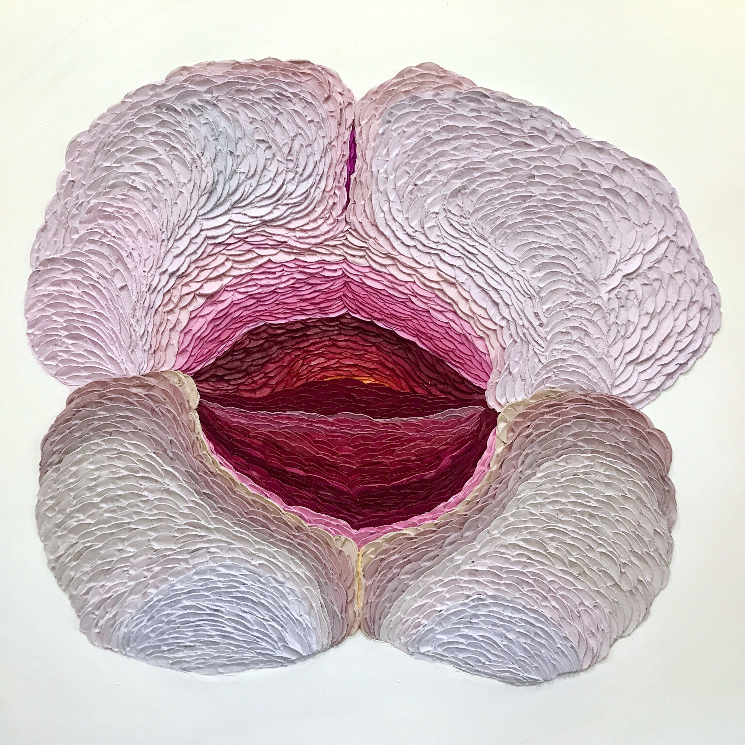 Bergin_Opening Flower_36x36_oil,ash,marble dust (1).jpg
