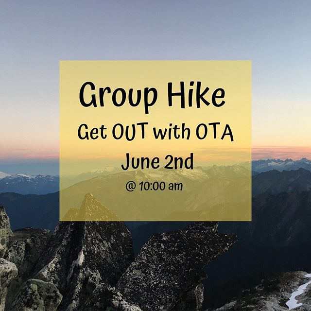 Mark your calendars! June second is a perfect chance to get OUT there!! Join us for a group hike up Raptor Ridge. Stay tuned for more details.  #getoutthere #nothingstraightaboutnature