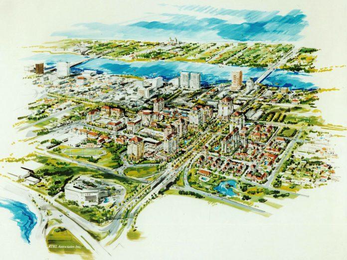 Rendering of Downtown Uptown