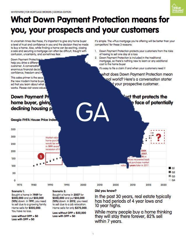 Georgia Market Sheet