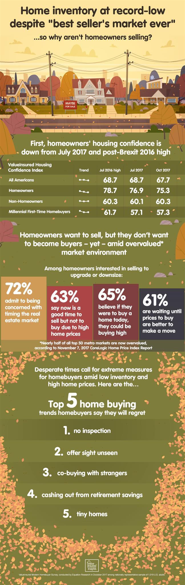 2017 ValueInsured Modern Homebuyer Survey Infographic