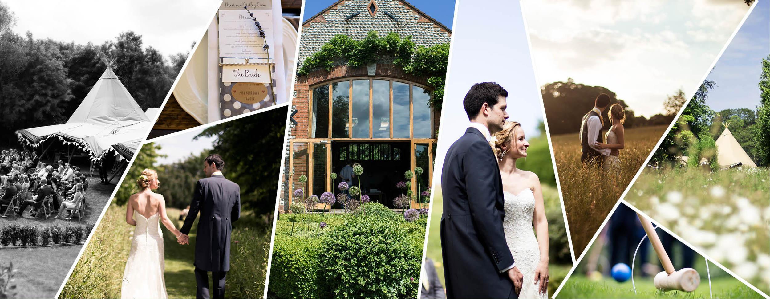 Chaucer Barn Norfolk wedding photography