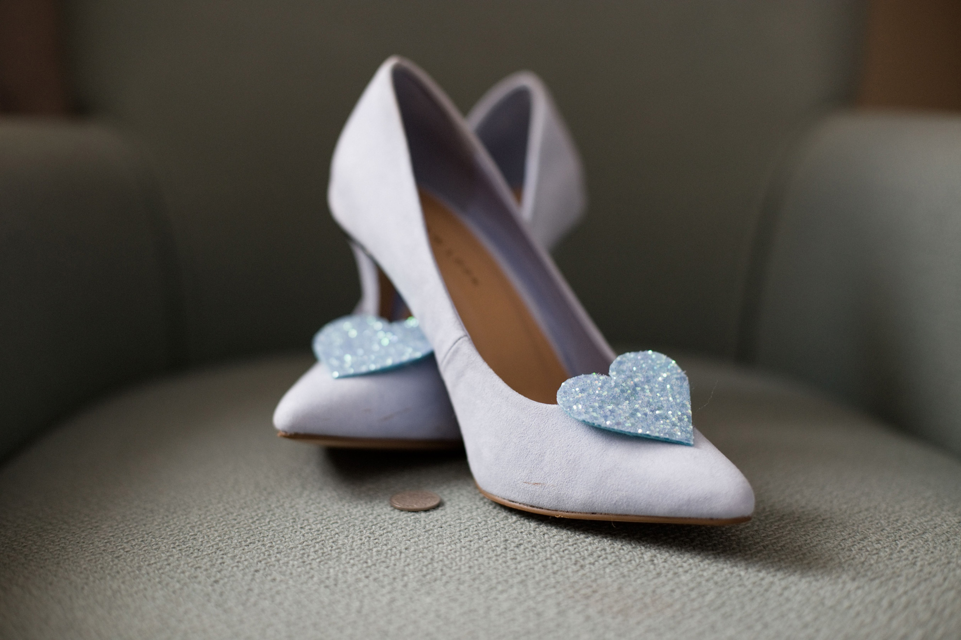 Penny in Wedding Shoes