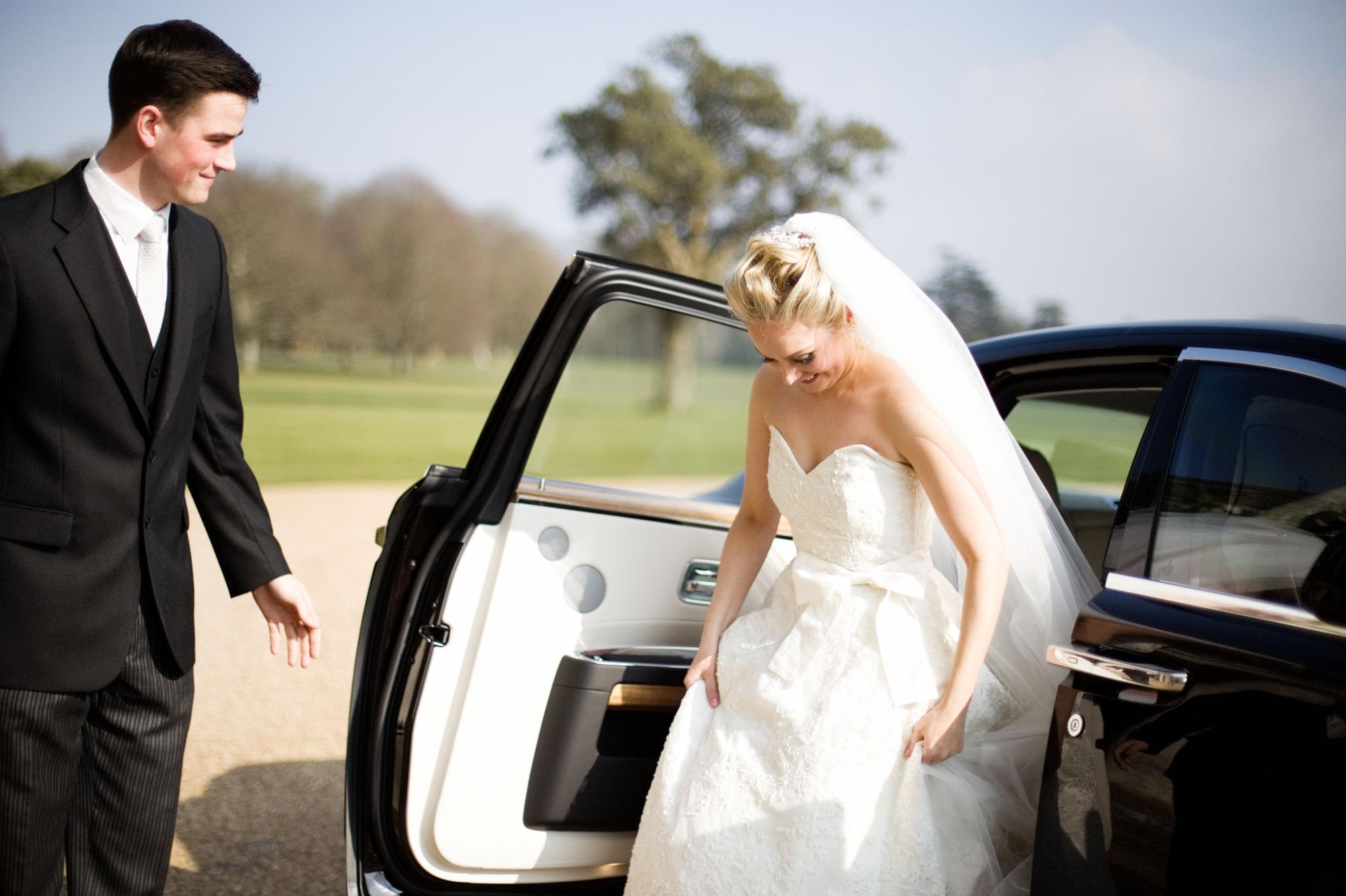 Wedding car Goodwood House