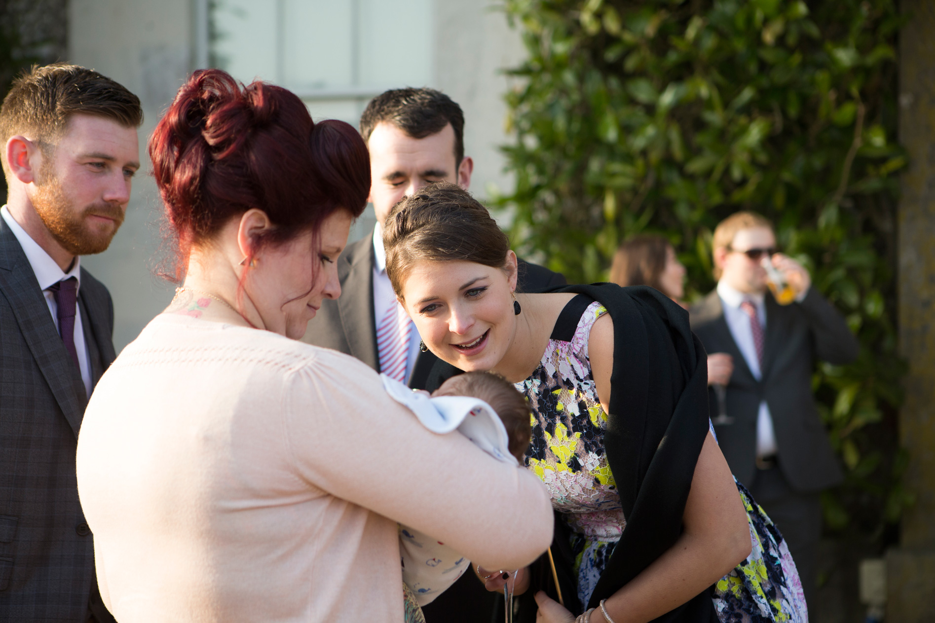 Wedding guests Goodwood House