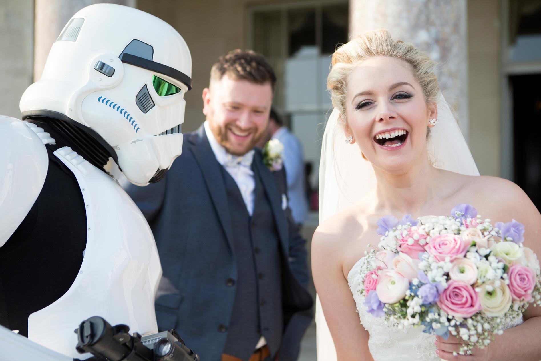 Storm Trooper Wedding West Sussex