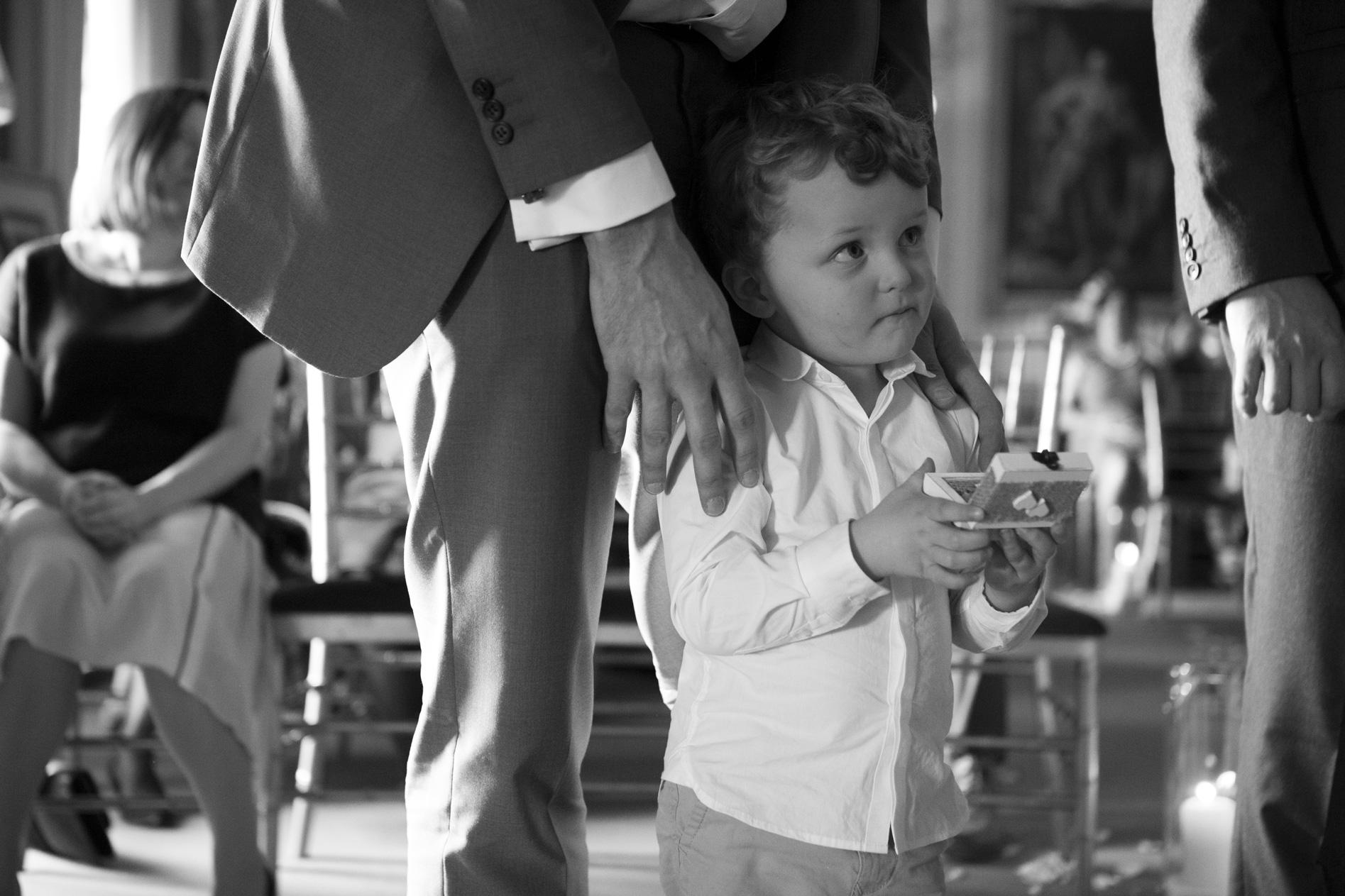 Ring bearer goodwood house wedding