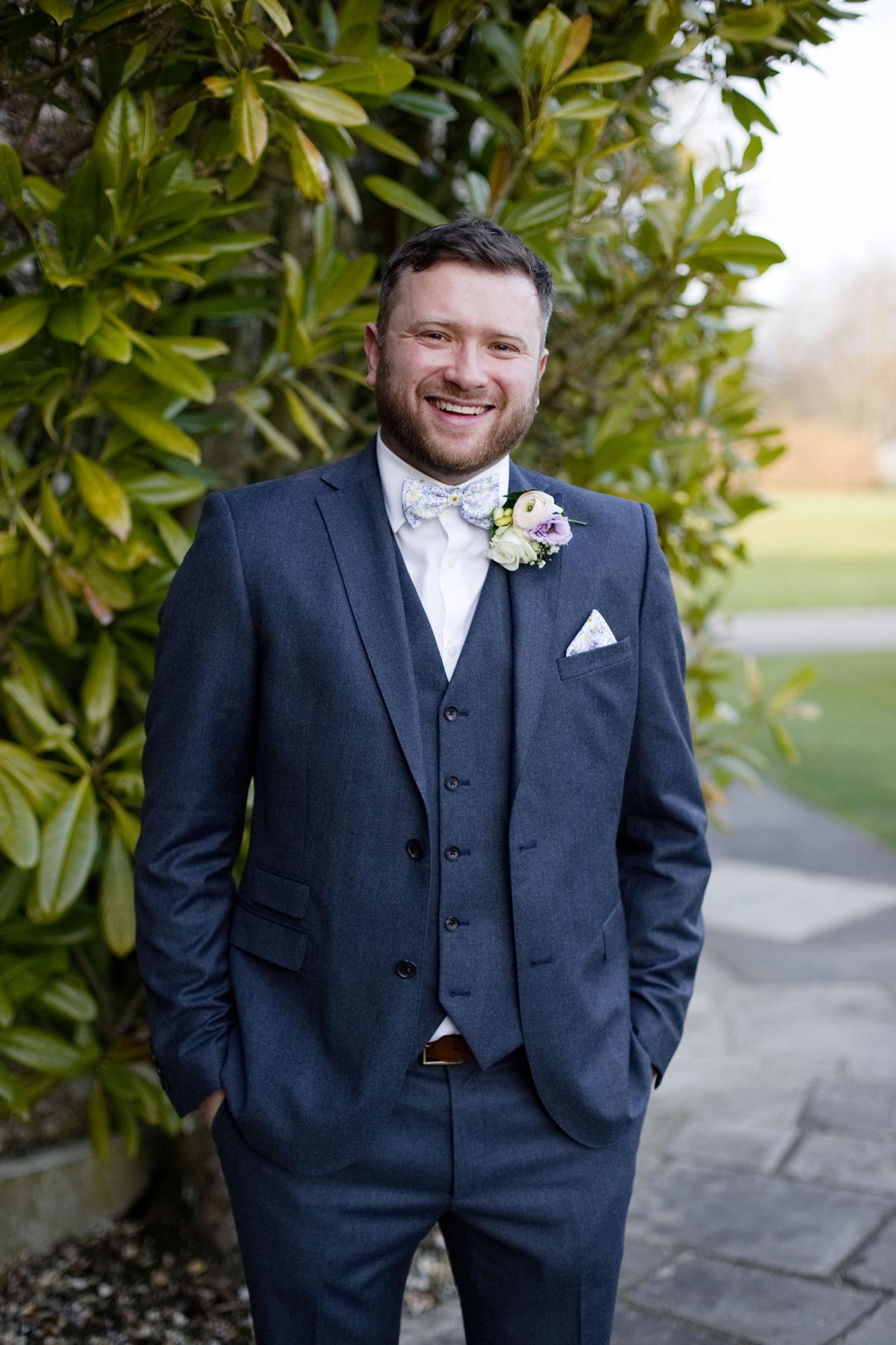 groom portrait west sussex