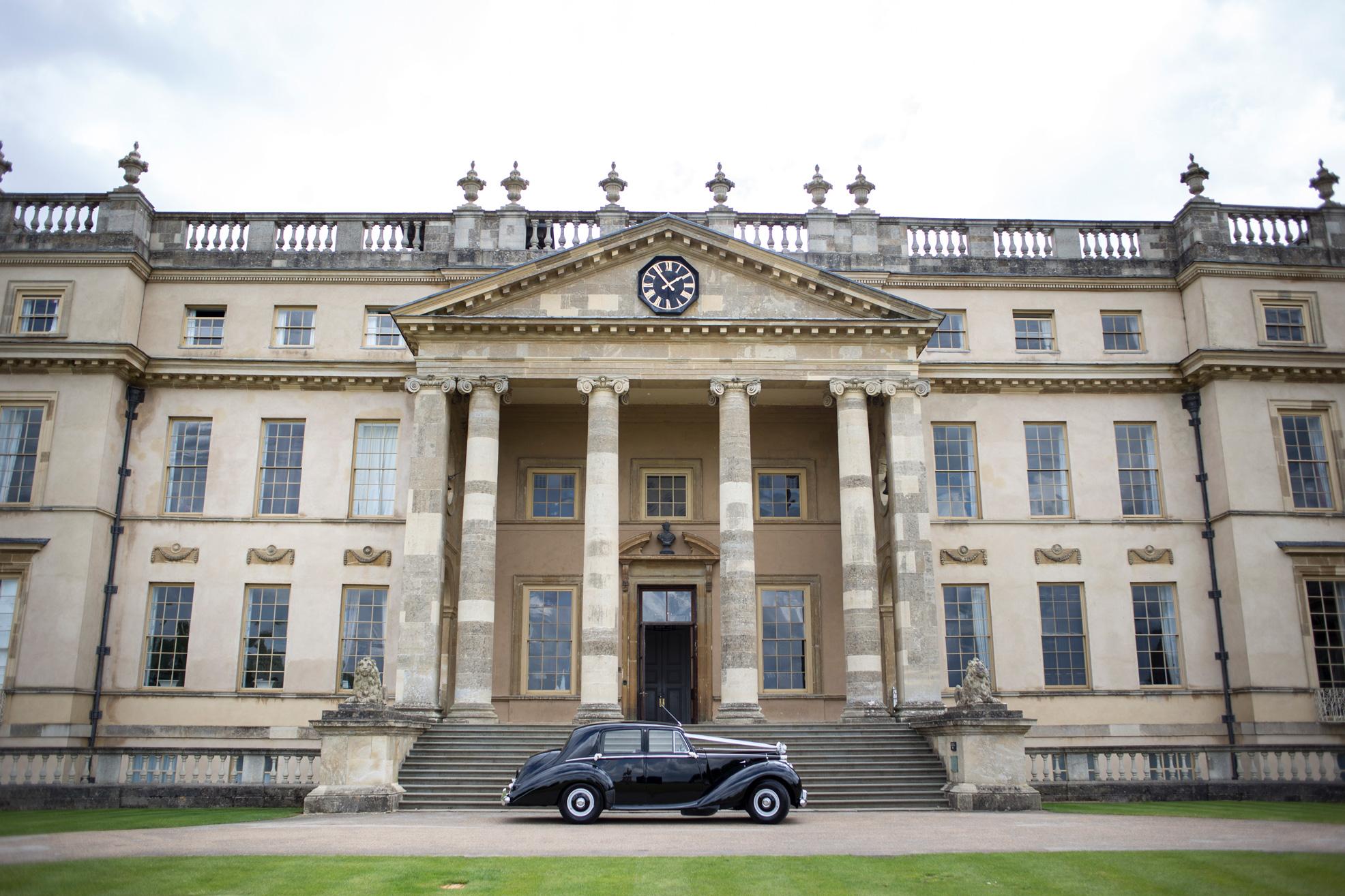 Stowe House, Buckinghamshire Wedding, Rolls Royce,