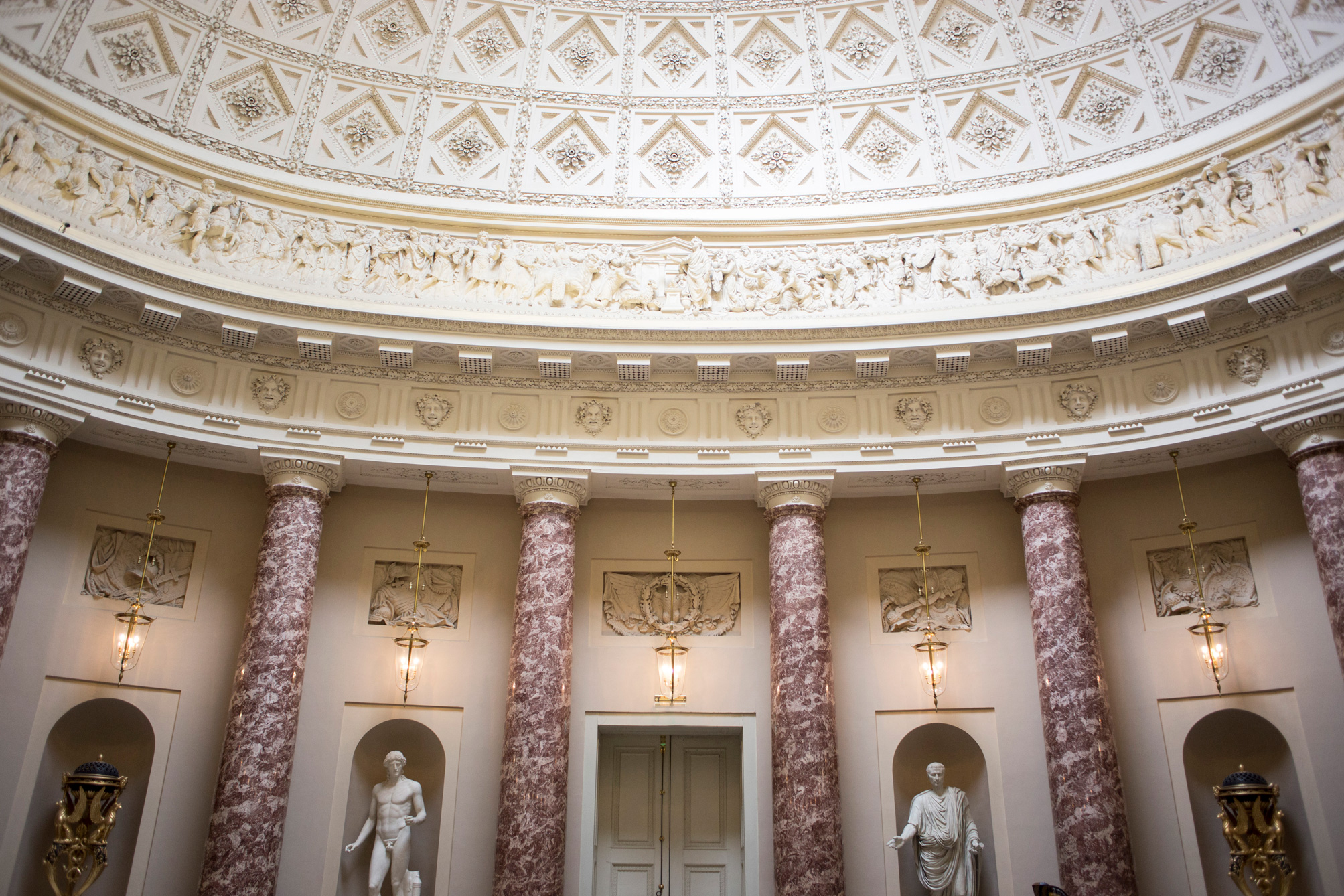 Stowe House, Ceremony, Marble, Luxury Wedding,