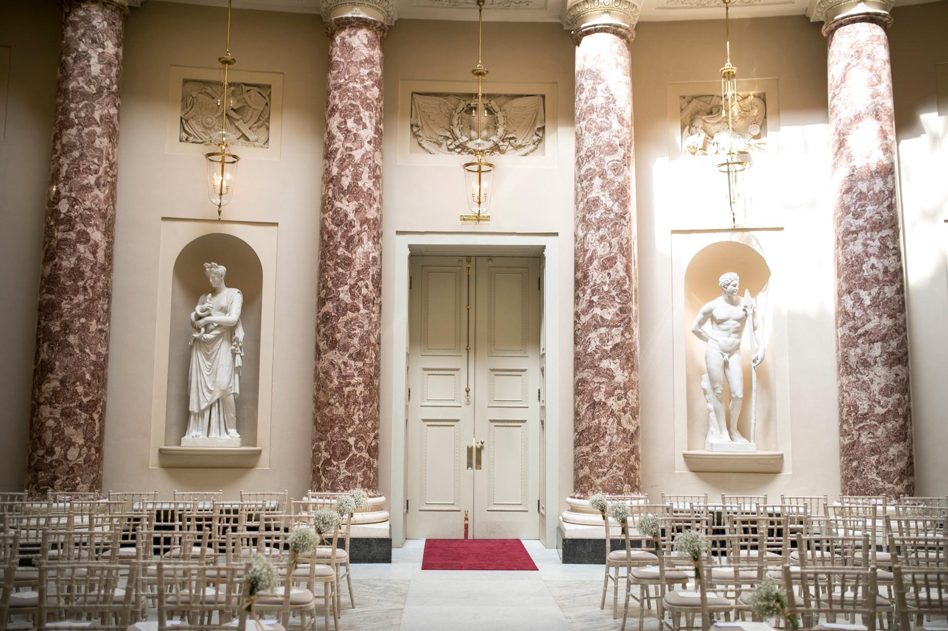 Stowe, details, pink room,