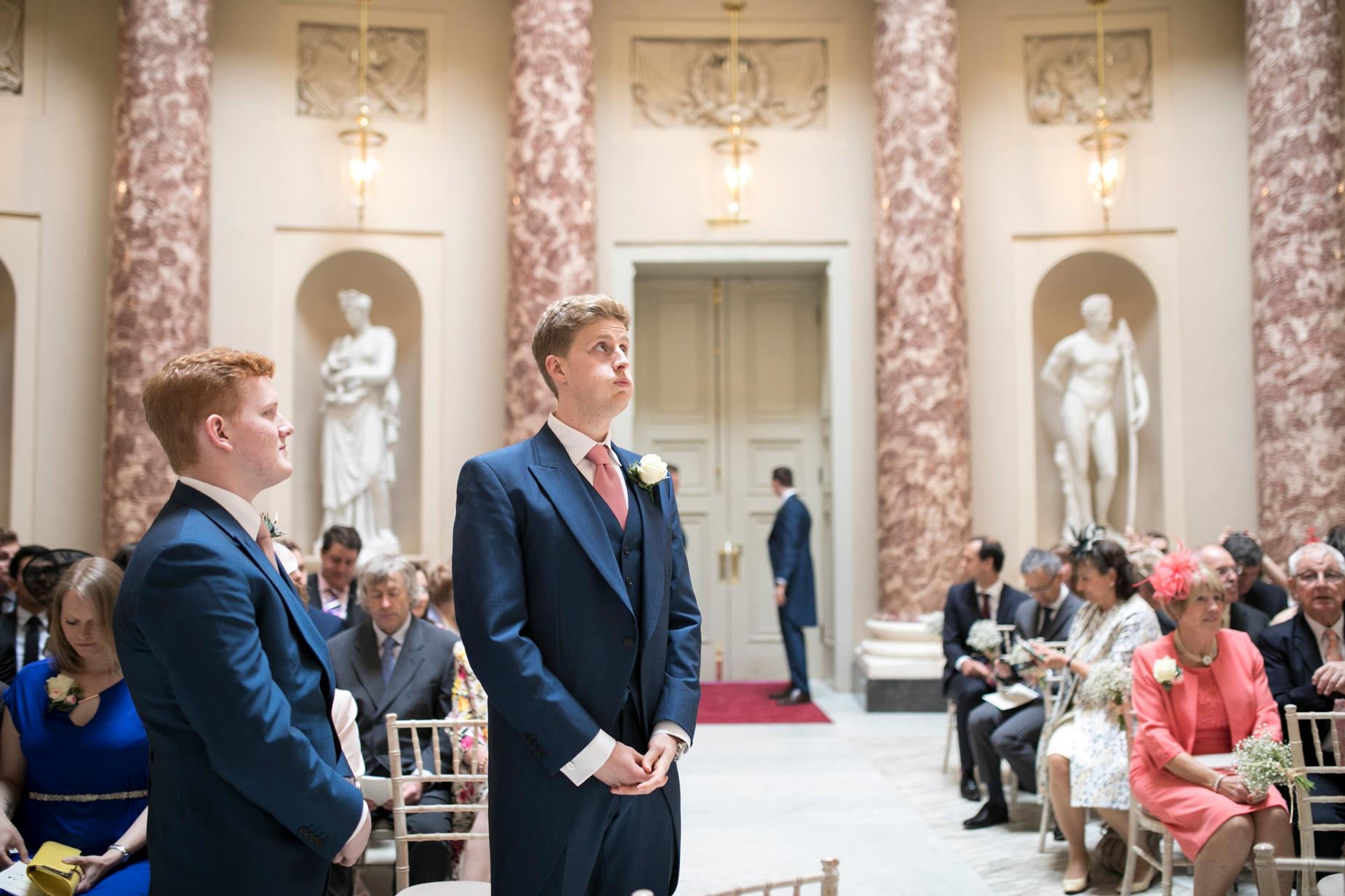Groom, Marble Room, Buckinghamshire Wedding Photographer,