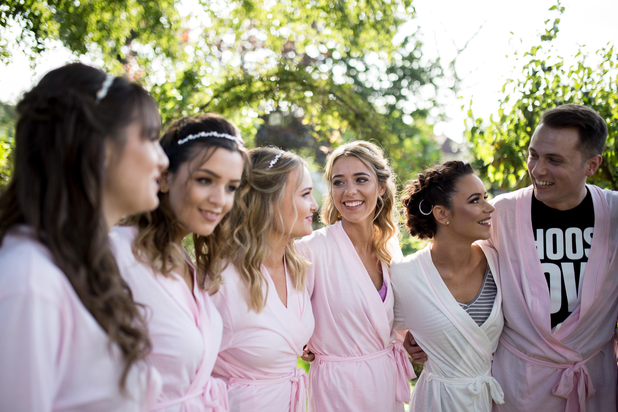 group, bridesmaids, friends, girls, buckinghamshire wedding,
