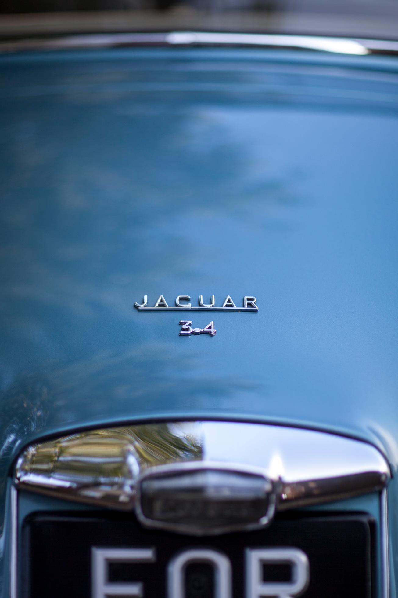 Jaguar, wedding car, blue wedding car, vintage car,