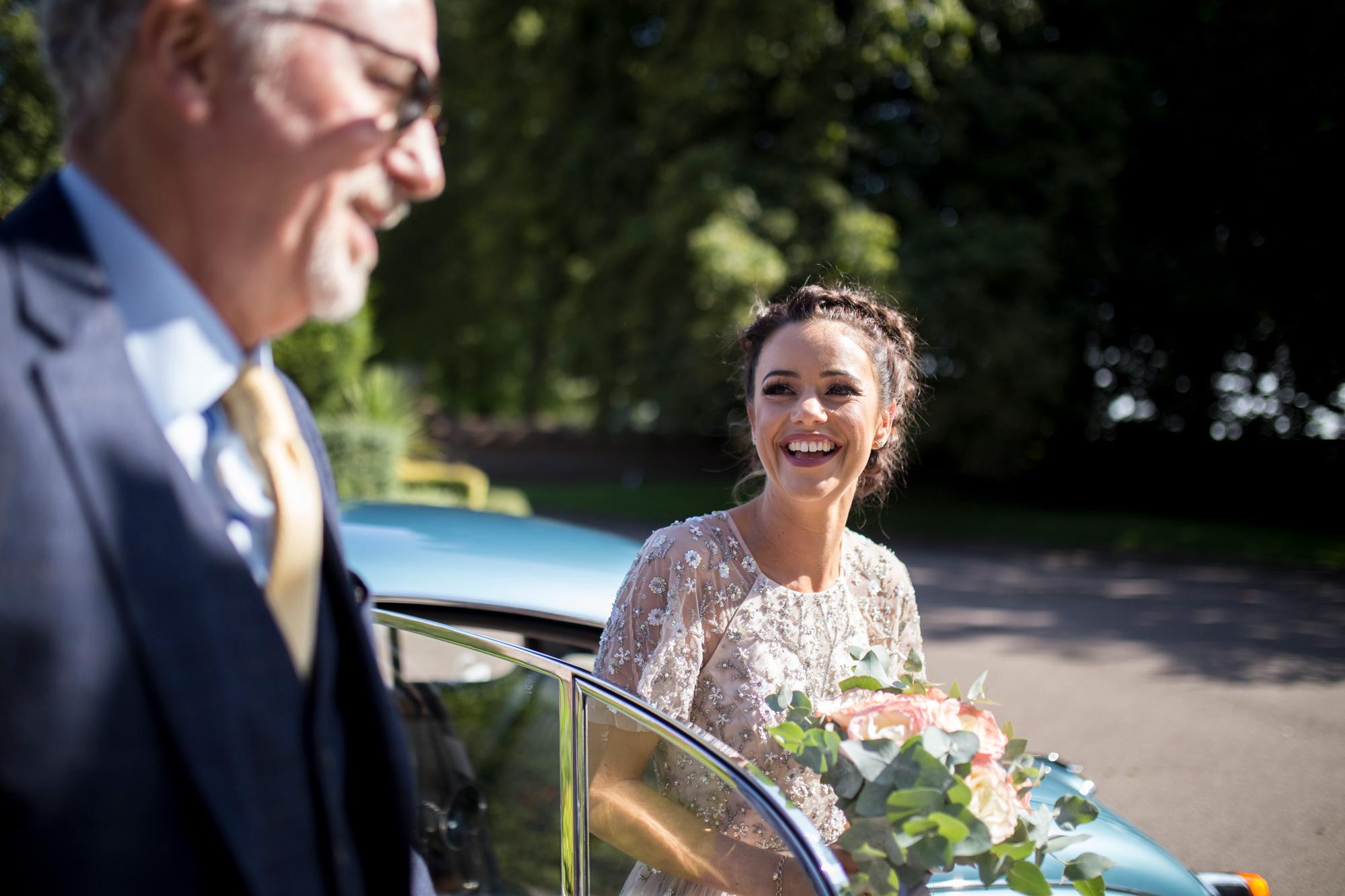 Bride, ceremony, horwood house,
