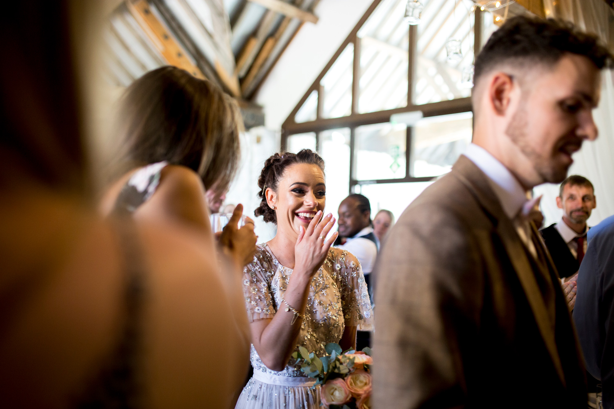 barn wedding, buckinghamshire Wedding, bride,