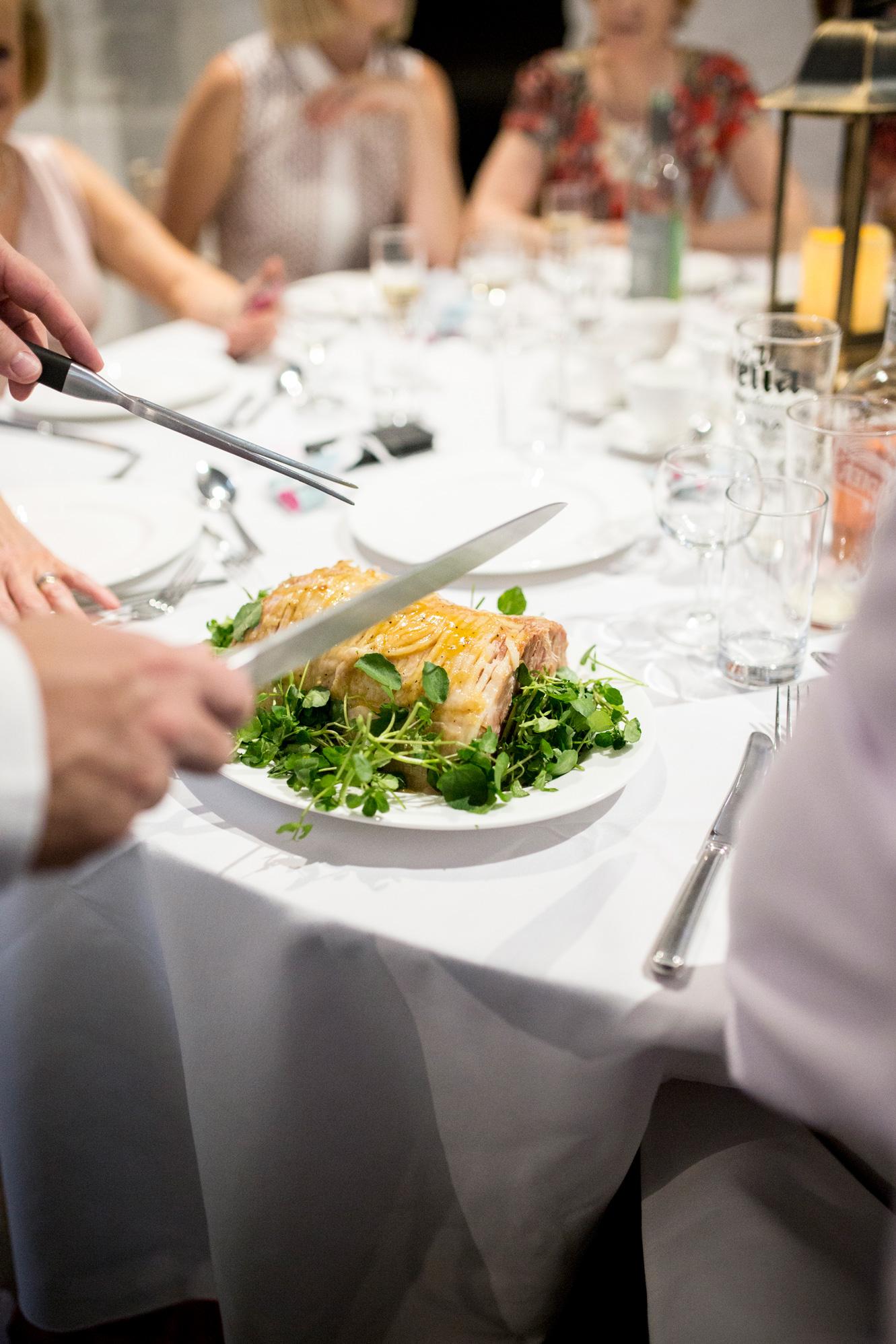 Ham, Wedding Breakfast, Buckinghamshire Wedding,