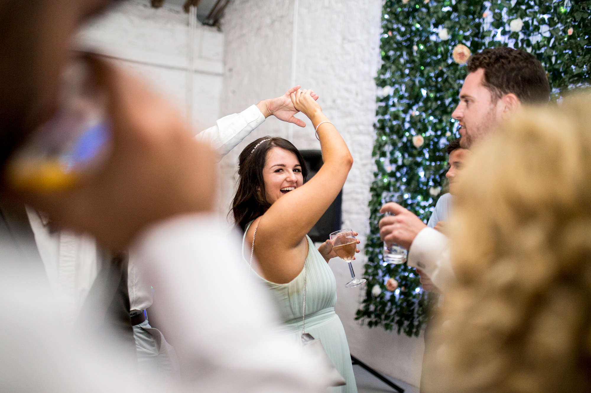 Dance, Wedding Reception, Bridesmaid, Crook Barn,