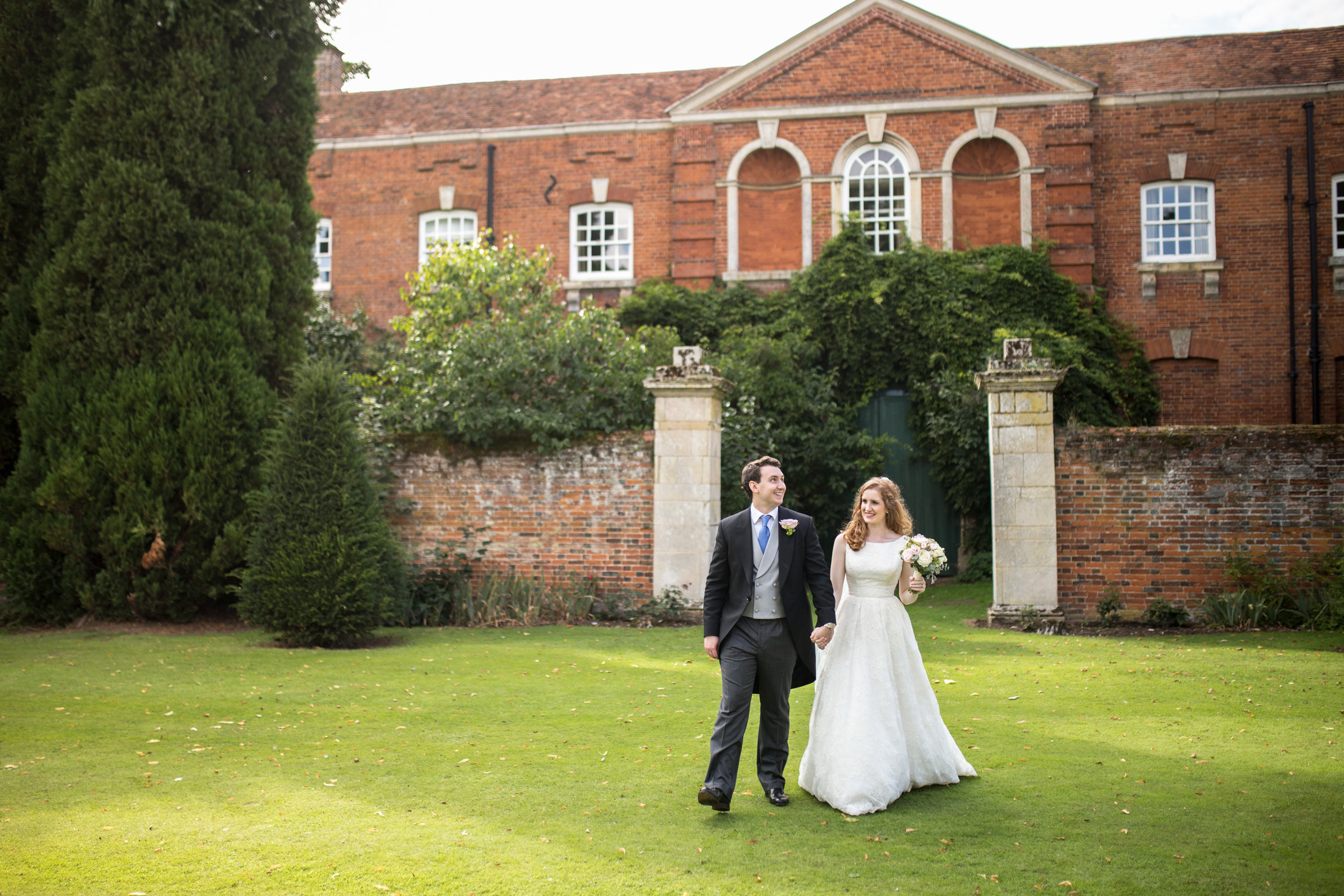Couple, Chicheley Hall, Big Day, Sunset, Evening, Summer Wedding,