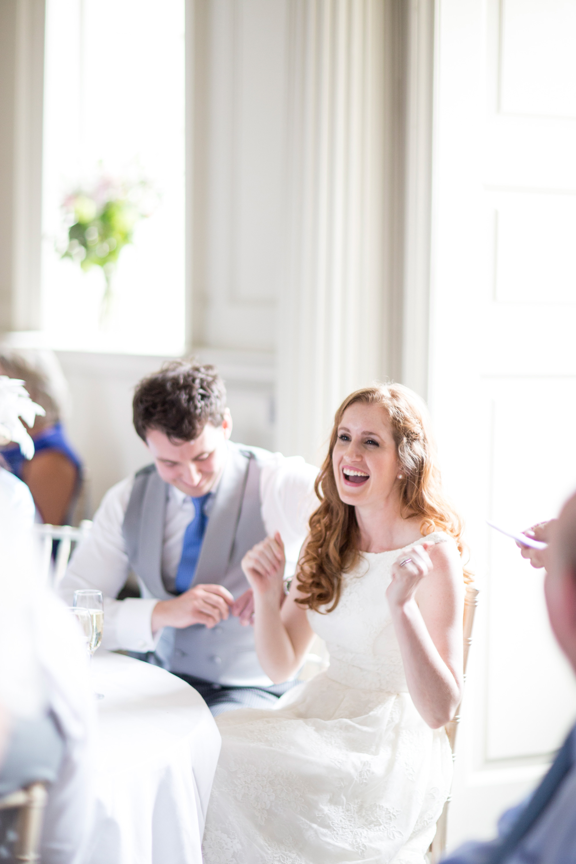 Wedding Speeches, Bride, Laughing, Wedding Blog,