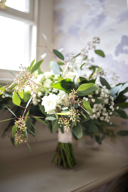 Wedding Bouquet, Wedding Flowres, Natural Bouquet, White Flowers,