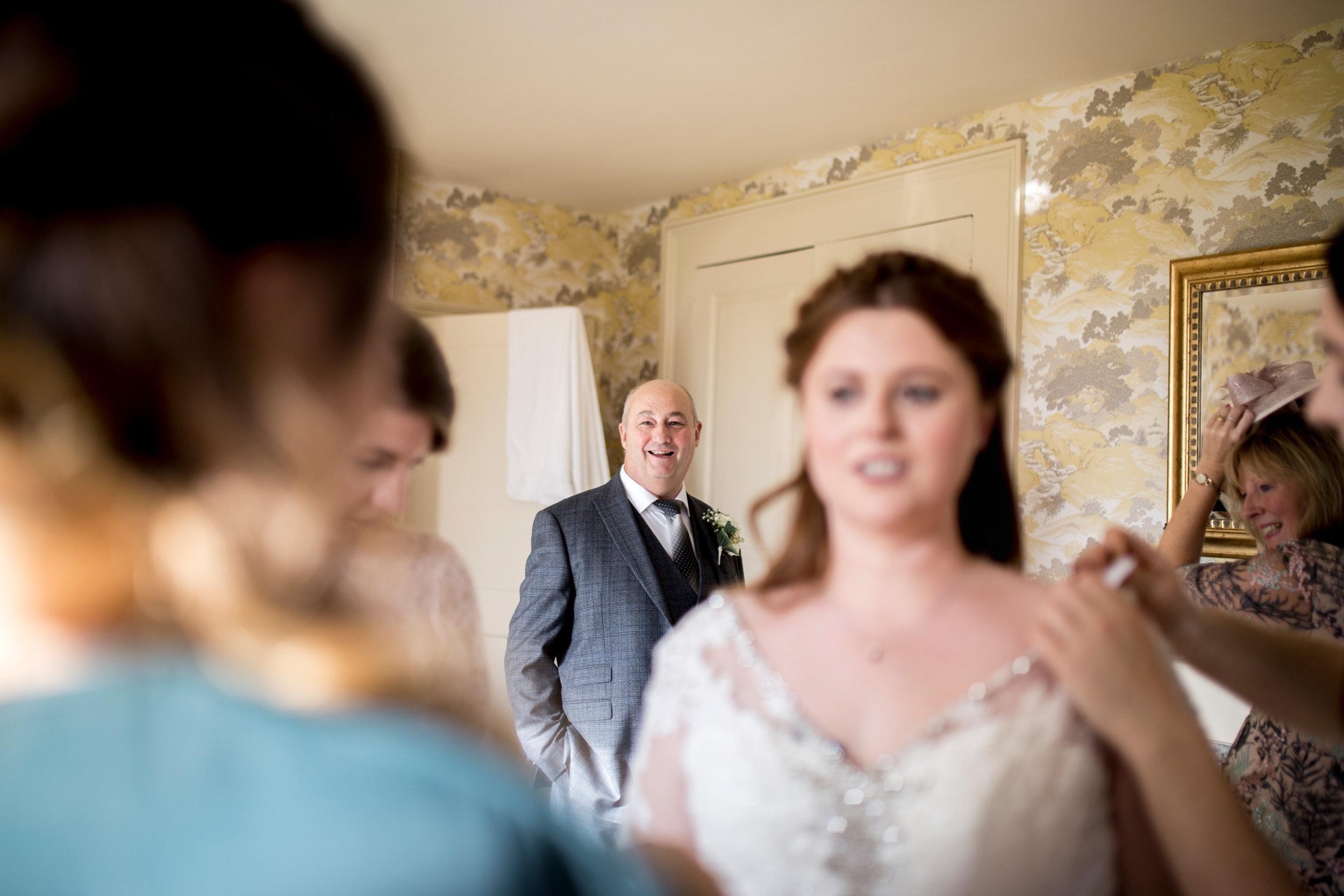 FOTB, Bedfordshire Wedding, Father Portrait, RMW,
