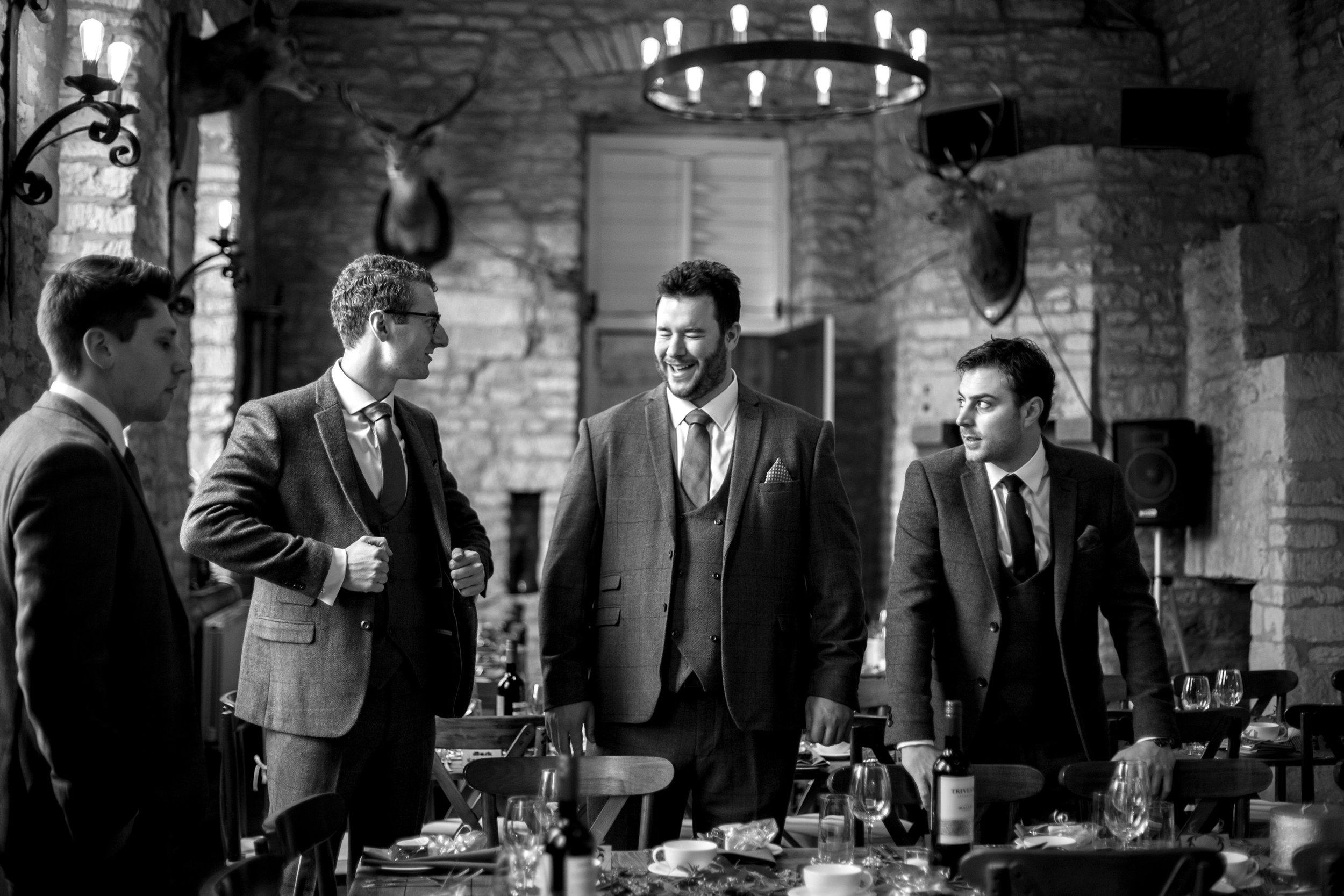 Groomsmen, Best Man, Hinwick House, Suits,
