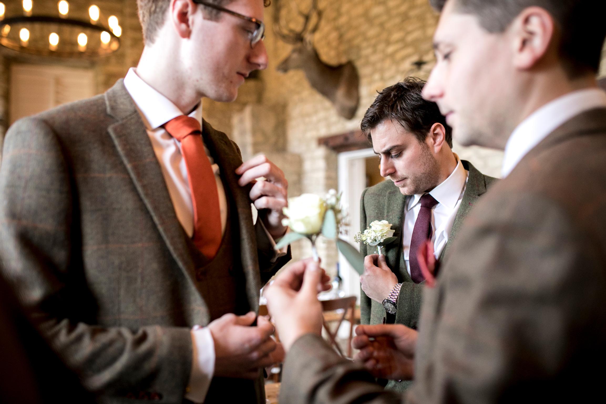 Autumn Wedding, Autumn Tones, Tweed Suits, Groomsmen,