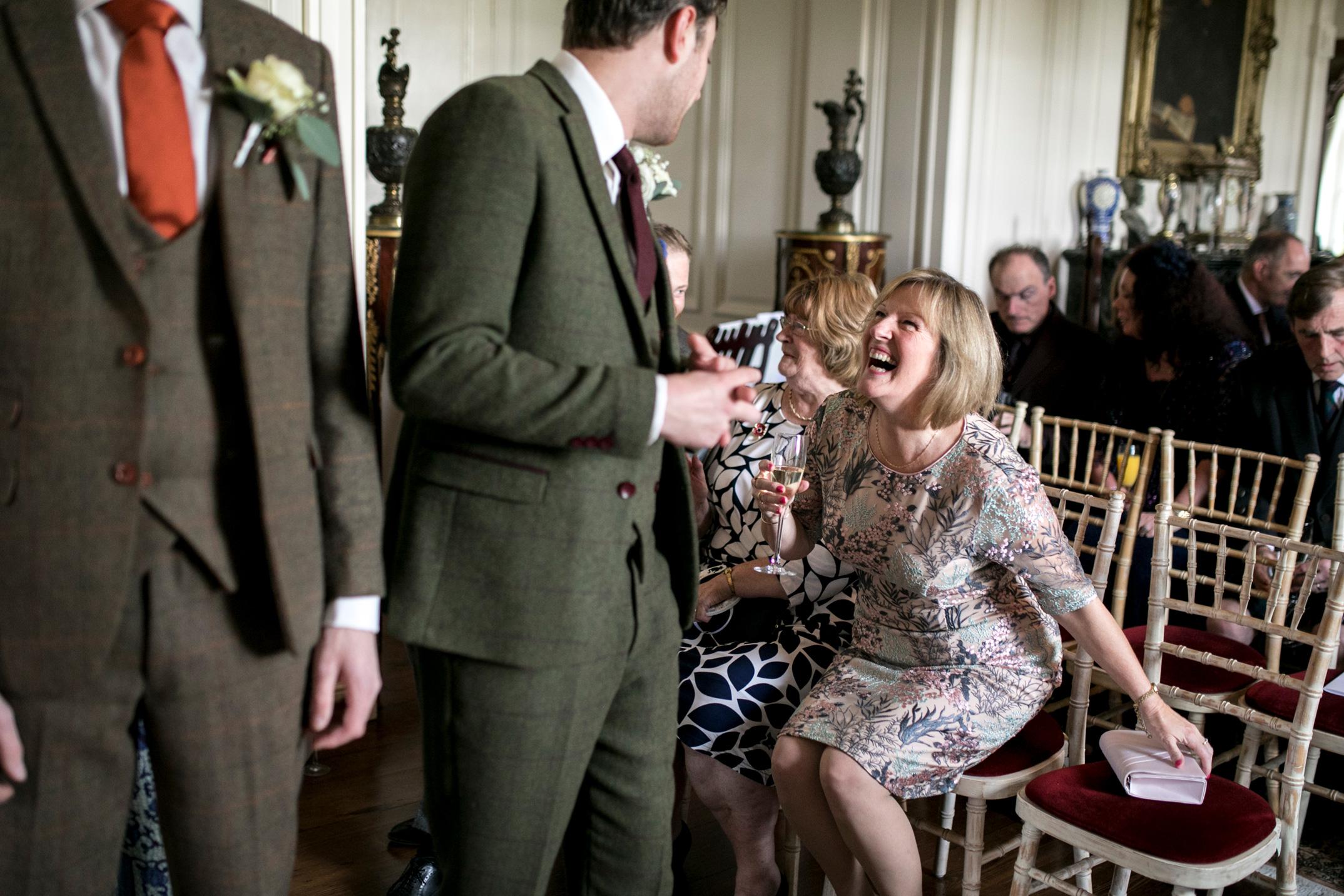 Wedding Ceremony, MOTB, Wedding Guests, Autumn Wedding,