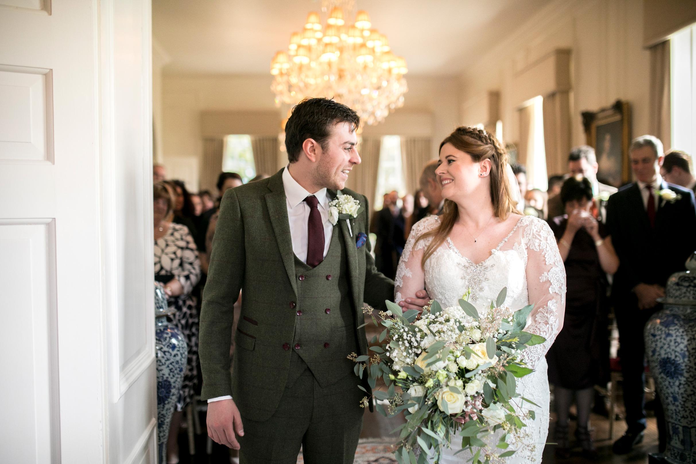 Happy Couple, Wedding Ceremony, Hinwick House, RMW, Rock My Wedding,