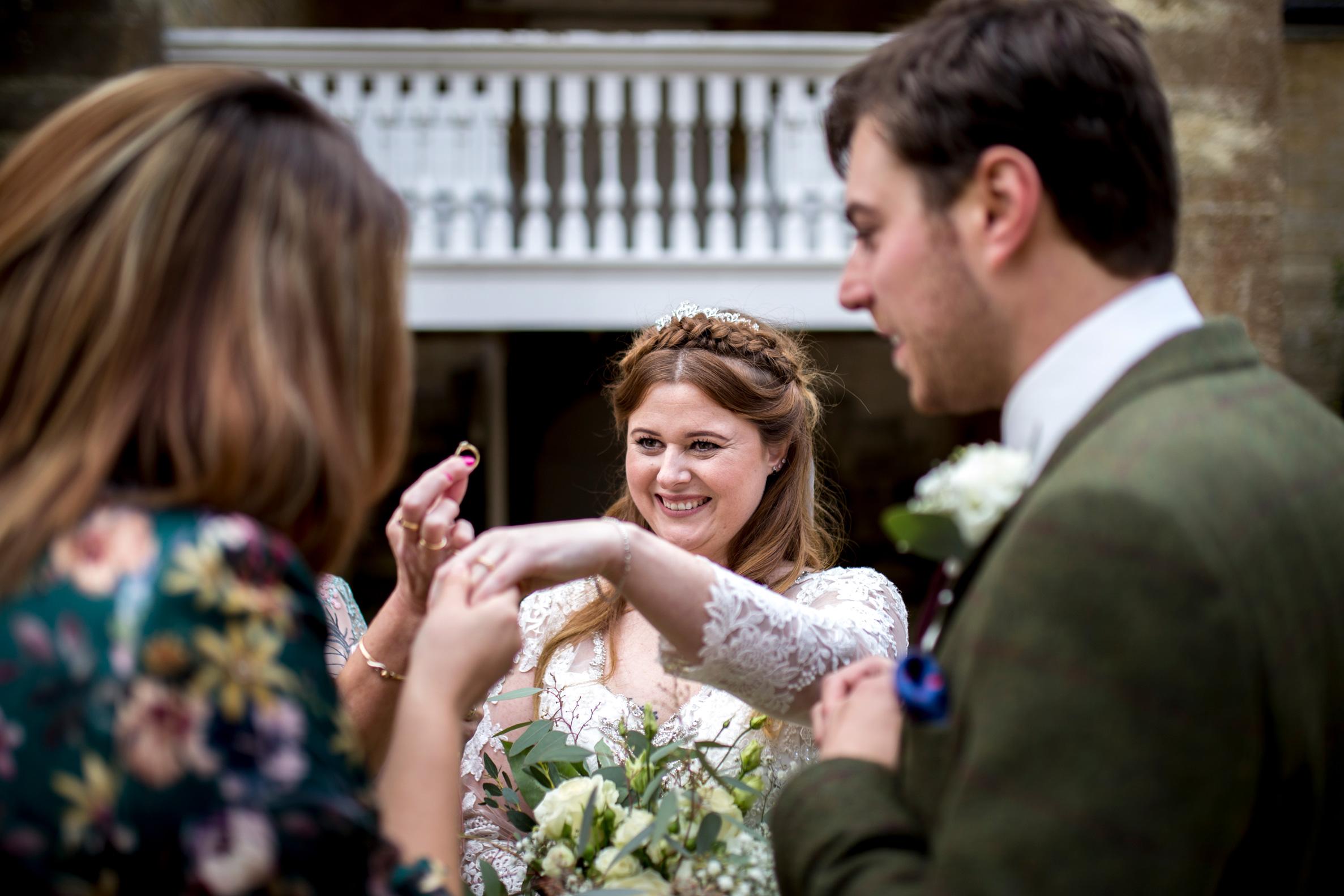 Wedding Ring, Bride, Happy Couple,