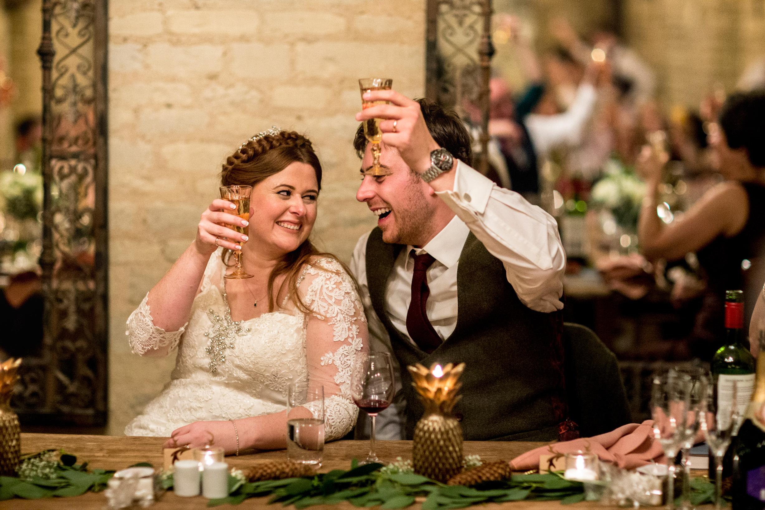Wedding Speeches, Happy Couple, Cheers, Hinwick House,