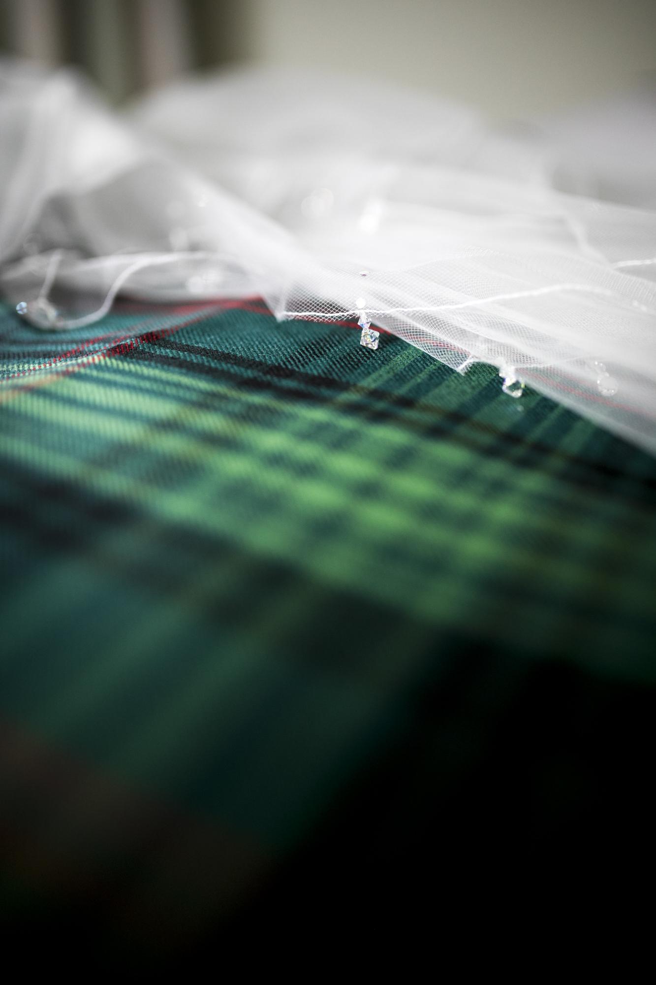 Tartan, Veil, Scottish Wedding,