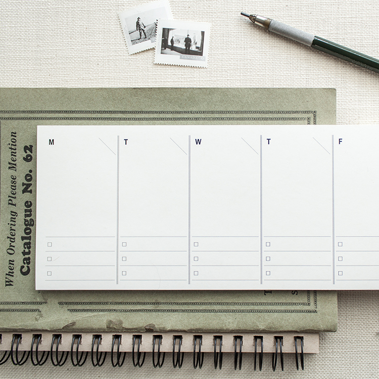 Weekly Planner Notepad - $8.00