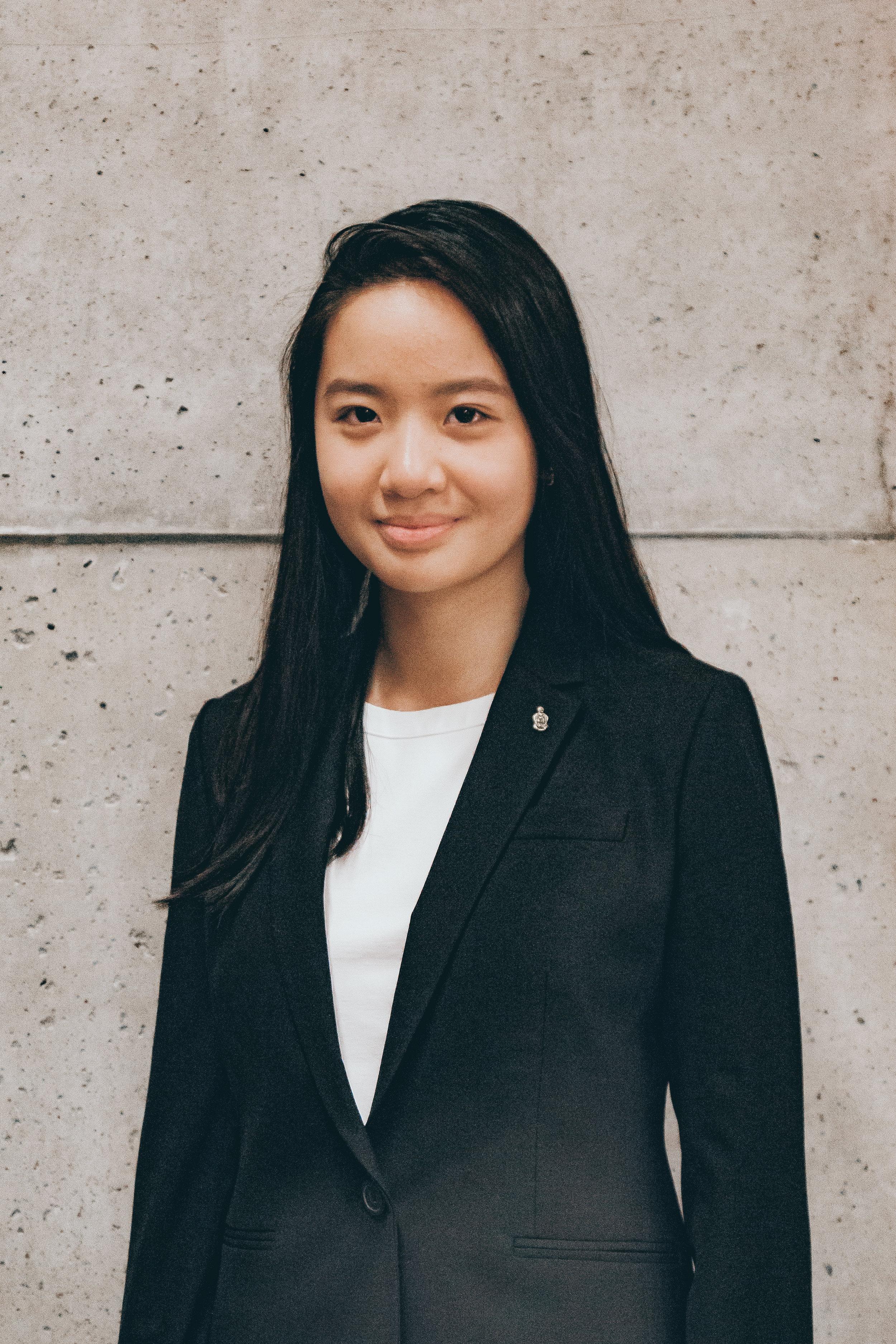Ashley Tan   VP Internal Affairs