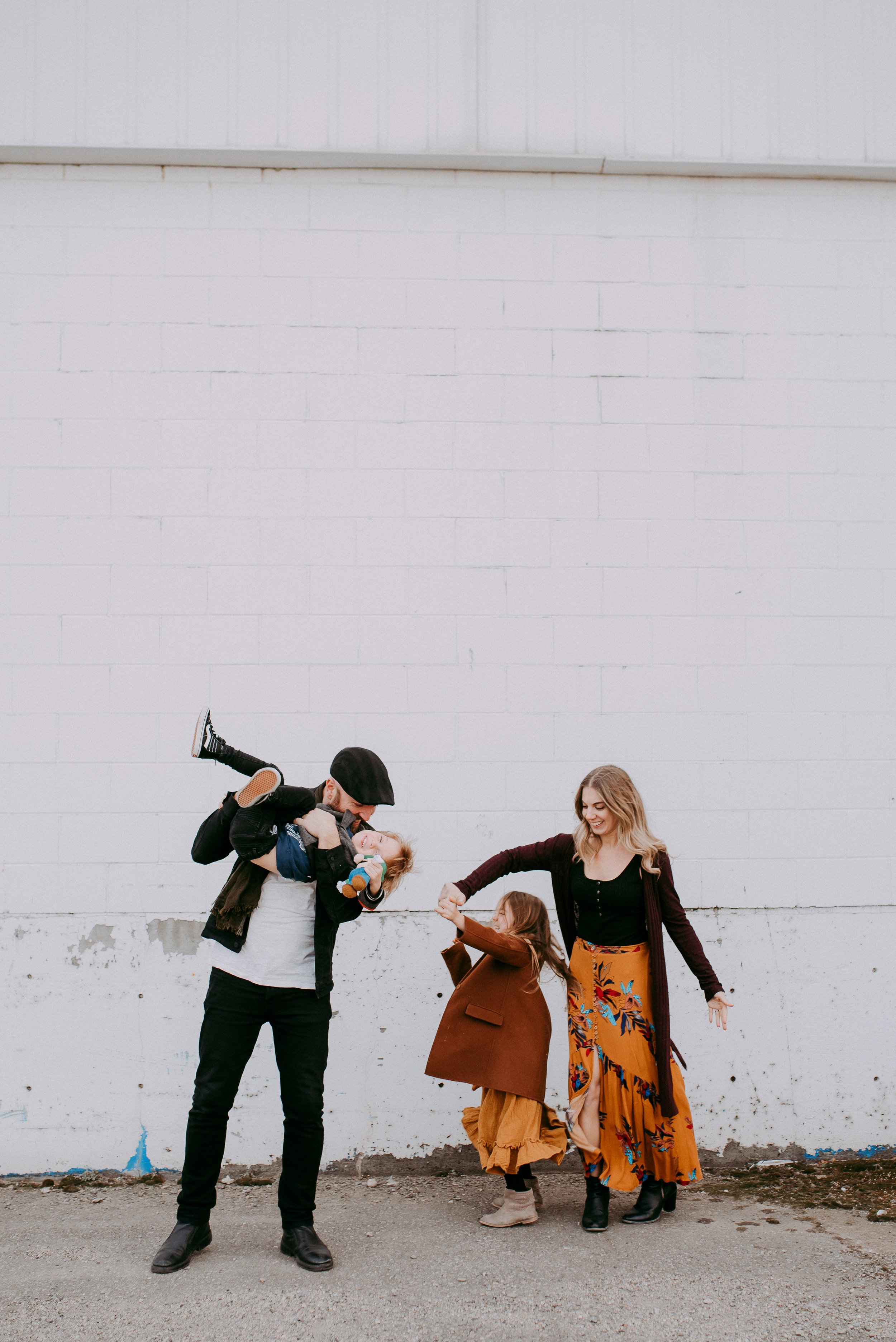 Photos of my family captured by  Kristina Nichol