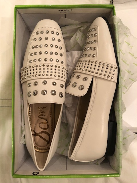 Studded Loafer:  Sam Edelman White is the color for shoes and booties this fall and these are one of my favorite finds! Can't wait to wear these!
