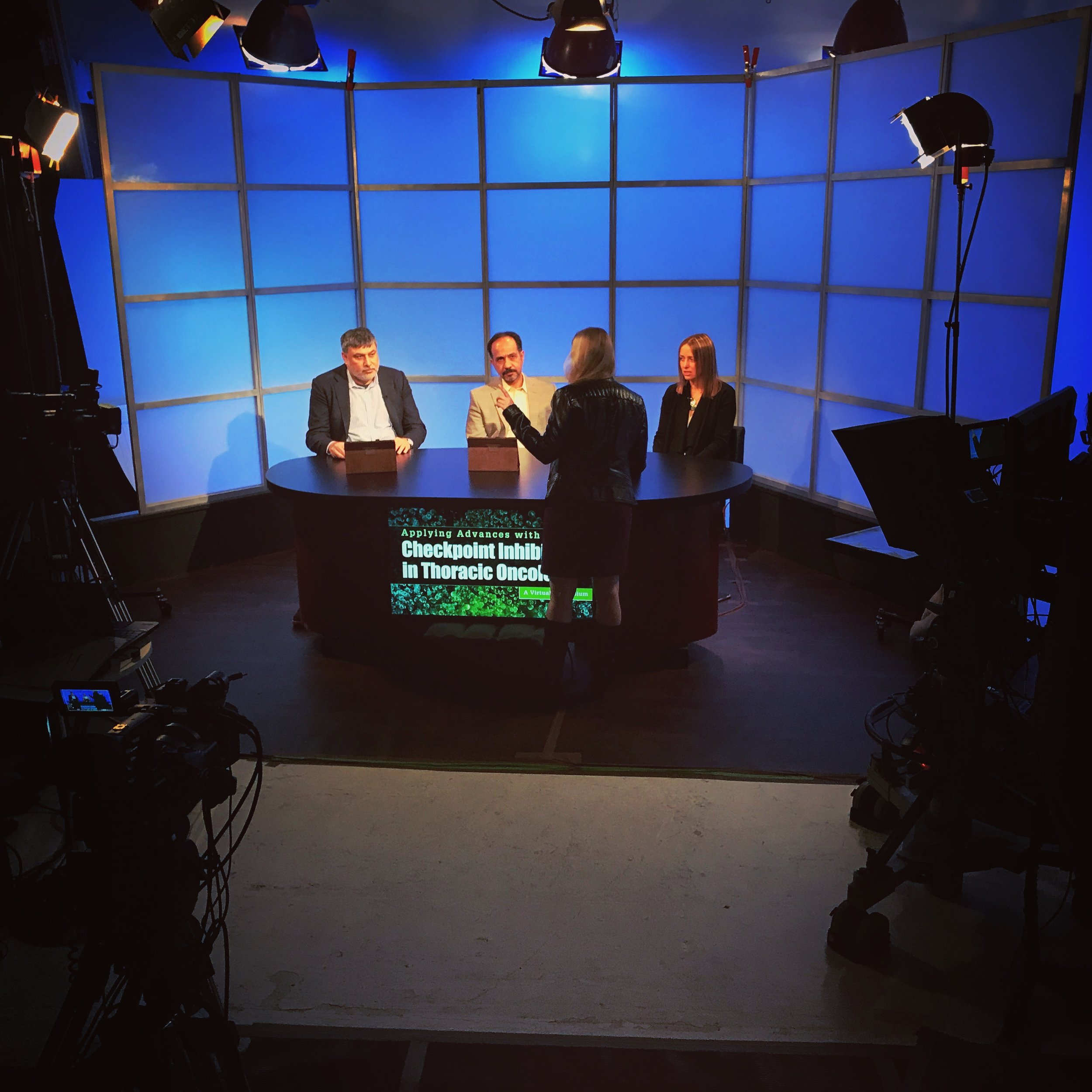 An Instagram Shot: Behind the Scenes of a Webcast
