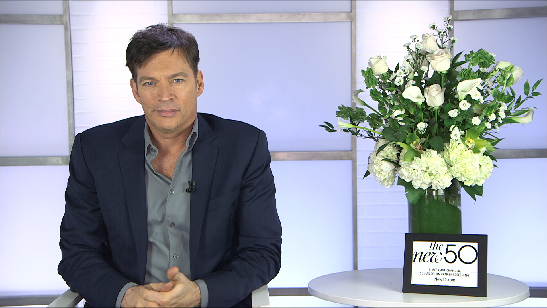 Harry Connick Jr. on our Brick and Plexi Set