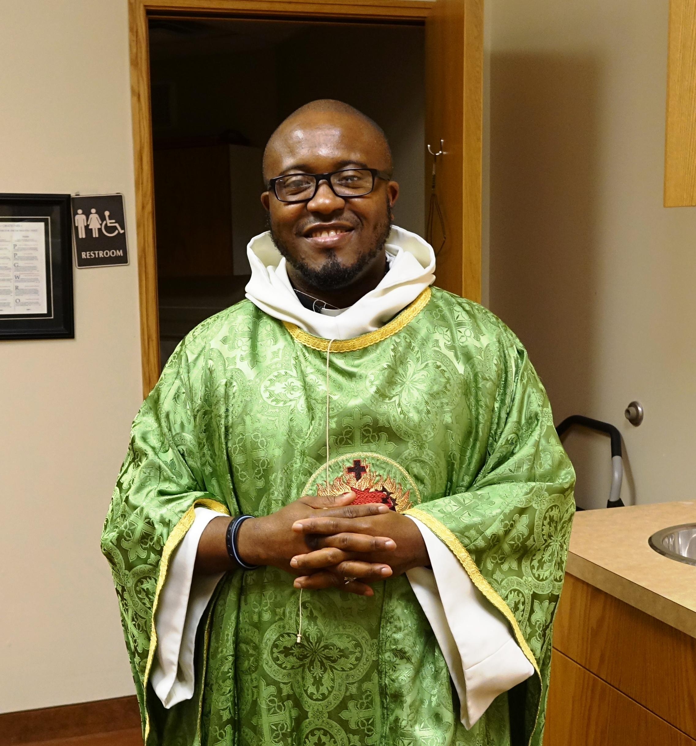 Father Bruno Nwachukwu