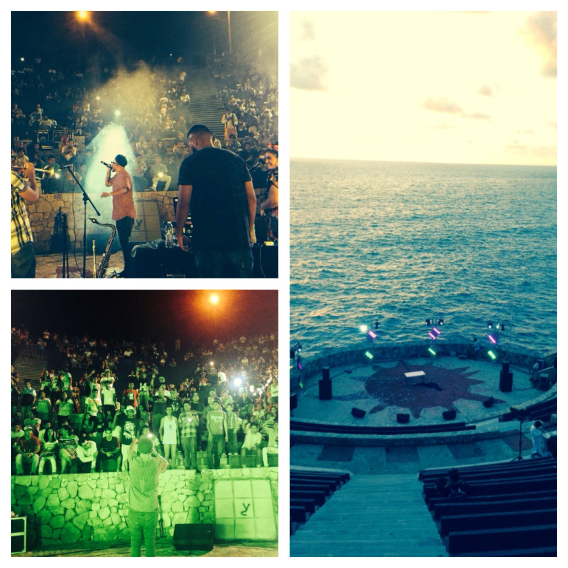 Bocafloja en el Festival Internacional La Nao 2015, Acapulco.