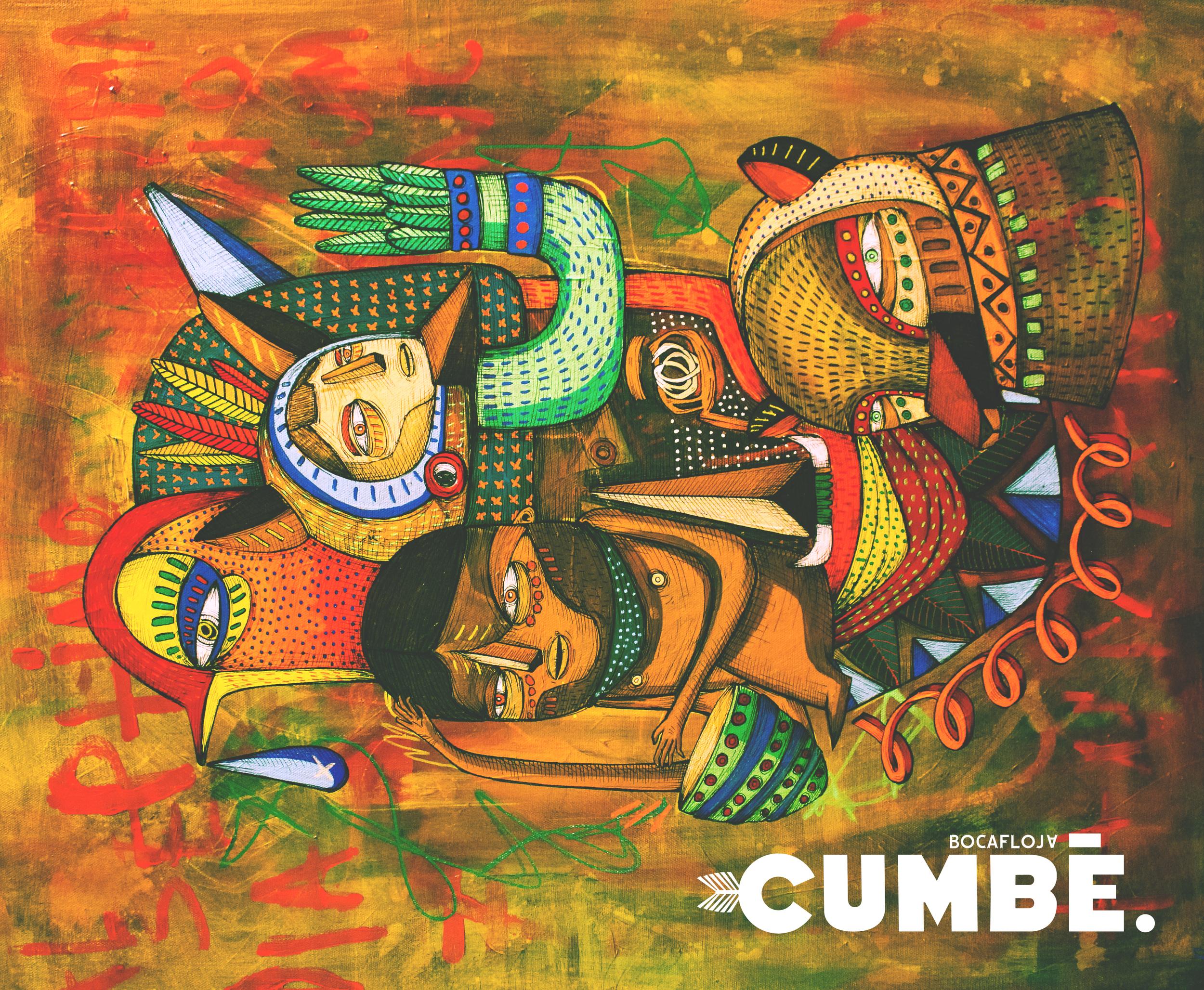 Cumbé Cover / Art by Roco Oñate