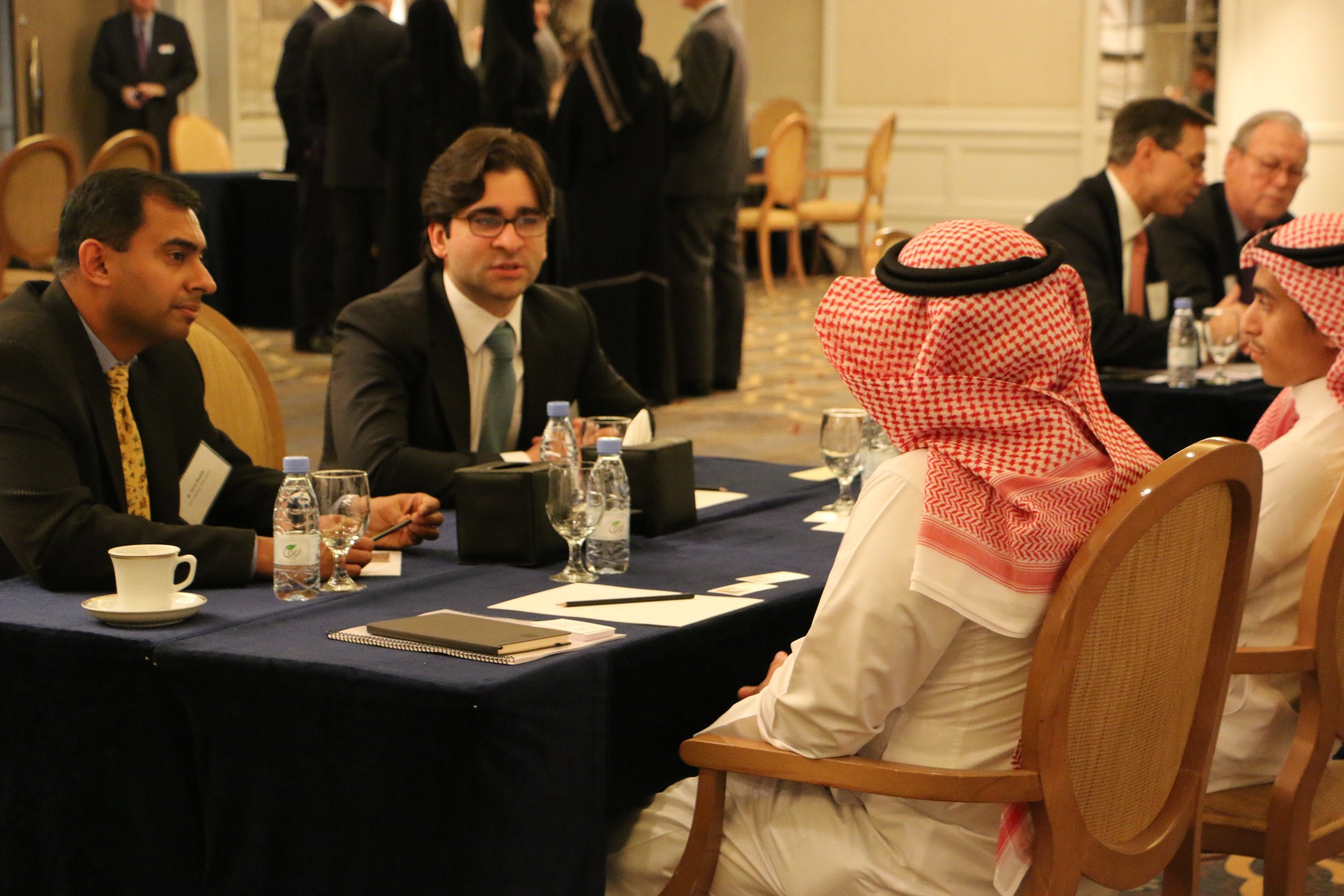 After Embassy Introductions, Delegates Discuss