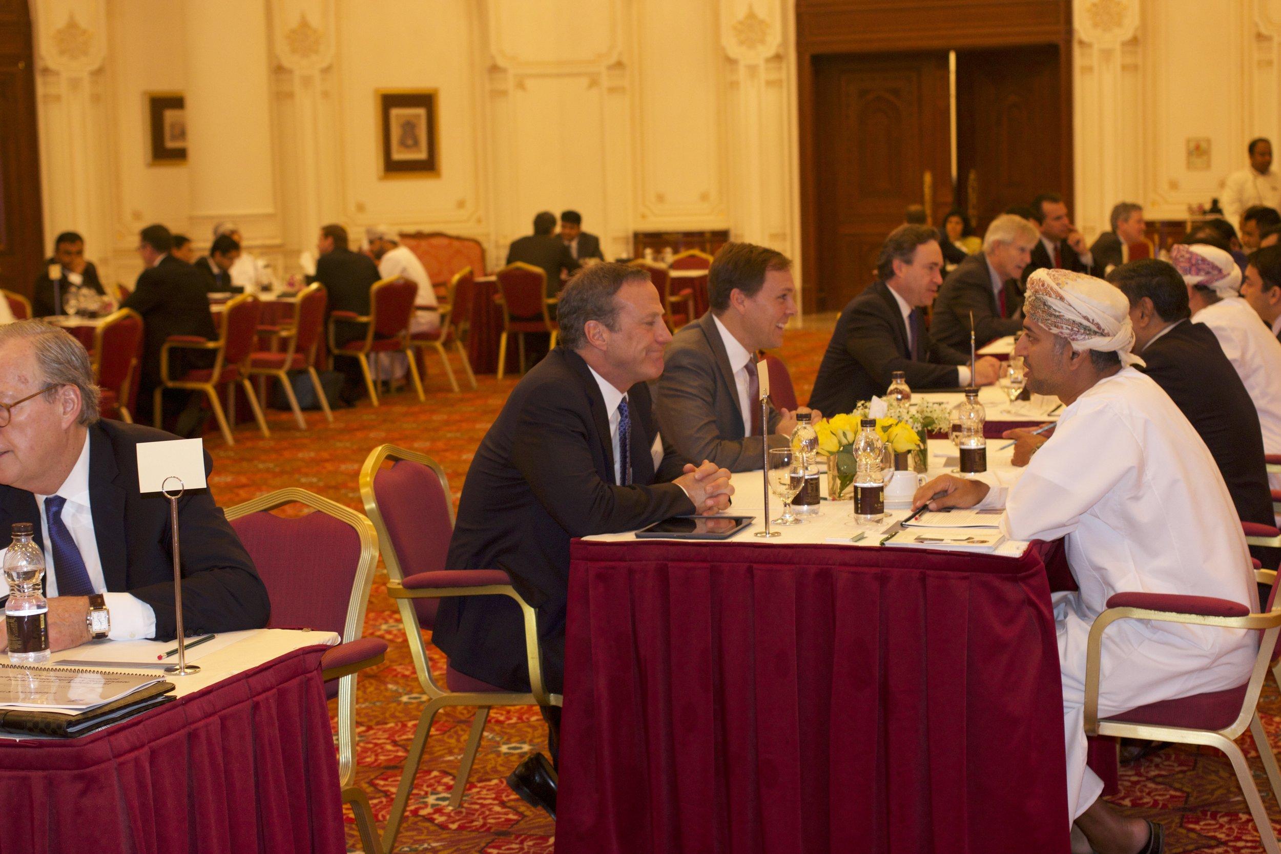 U.S. Delegates Meet with Dozens of Omani Investors