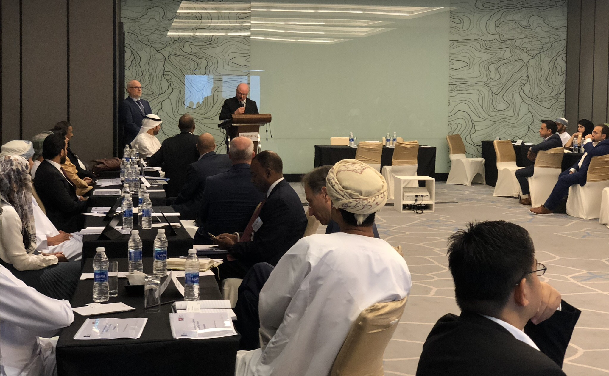 US Ambassador Sievers Opens the Mission in Oman